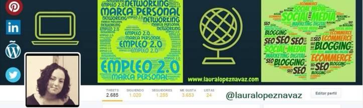 laura lopez navaz, zaragoza, twitter, marketing digital, blogging, networking
