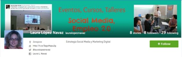 laura lopez navaz, storify, social media, marketing digital, zaragoza