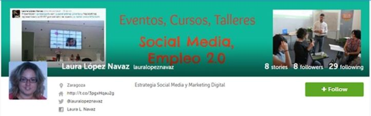 laura lopez navaz, storify, social media, marketing digital, zaragoza